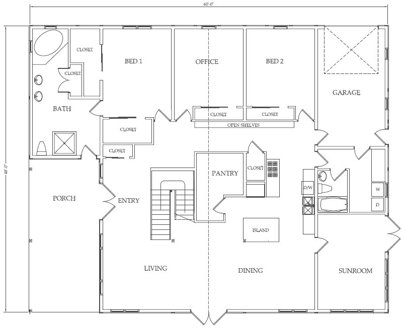 Guide to shed: Share Barn apartment combo plans